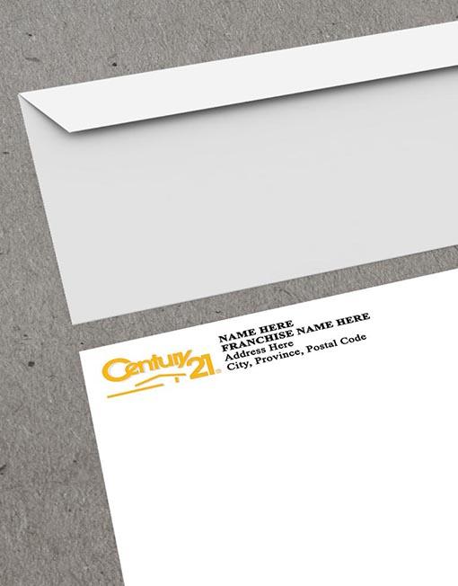 Century 21 Envelope mockup thumb