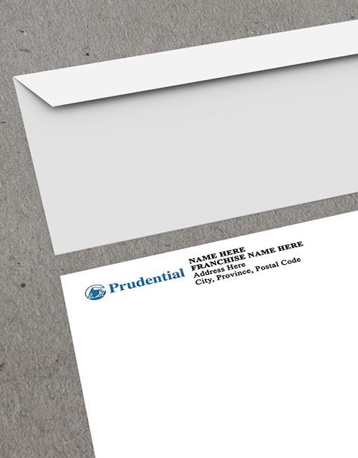 Prudential Envelope mockup thumb