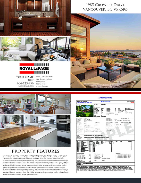 feature sheet 4 pages template 07 realtorpapa vancouver real